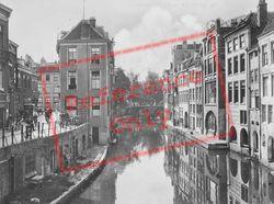 Oudegracht From Maartensbrug c.1930, Utrecht