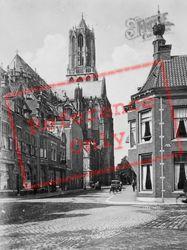 Voetiusstraat And Dom Kerk c.1930, Utrecht