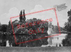 Wilhelminapark Pond c.1930, Utrecht