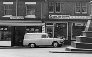 Uttoxeter, Austin A55 Van c.1965