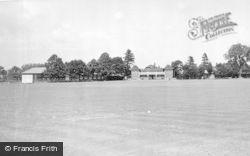 Uttoxeter, Bamford's Sports Ground c.1955
