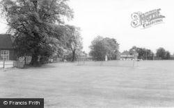 Uttoxeter, Bamfords Sports Ground c.1955