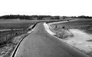 Uttoxeter, Blithfield Reservoir c.1955