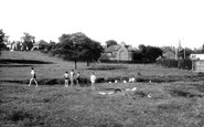 Uttoxeter, By The Hockley Brook c.1955