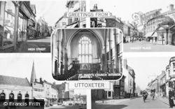 Uttoxeter, Composite c.1955