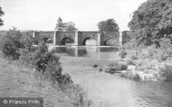 Uttoxeter, Dove Bridge c.1955