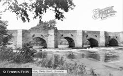 Uttoxeter, Dove Bridge, Derby Road c.1955