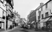 Uttoxeter, High Street 1957