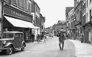 Uttoxeter, High Street c1955