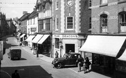 Uttoxeter, High Street c.1955