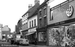 Uttoxeter, High Street c.1965