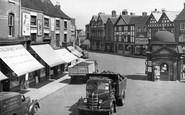 Uttoxeter, Market Place 1949