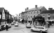 Uttoxeter, Market Place c.1965