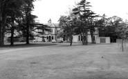 Uttoxeter, Oldfields Hall School c.1965