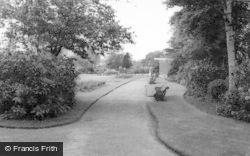 Uttoxeter, Recreation Ground c.1965