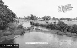 Uttoxeter, River Dove c.1955