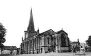 Uttoxeter, St Mary's Parish Church c.1955