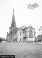 Uttoxeter, The Church c.1955