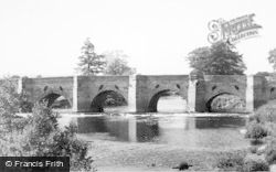 Uttoxeter, The Dove Bridge c.1955