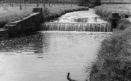 Uttoxeter, The Hockley Brook c.1965