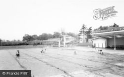 Uttoxeter, The Lido c.1955