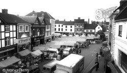 Uttoxeter, The Market c.1965