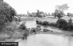 Uttoxeter, The River Dove c.1955