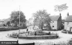 Uttoxeter, The Roundabout c.1955