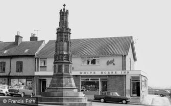 Uttoxeter, the War Memorial c1965