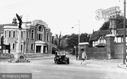 Uxbridge, Central Hall And Entrance To RAF Camp c.1950