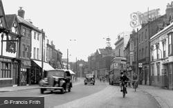 Uxbridge, High Street Looking East c.1950
