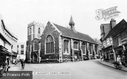 Uxbridge, St Margaret's Church c.1955