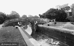 Uxbridge, The Canal c.1955