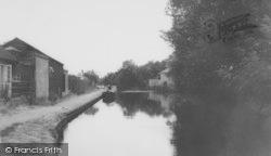 Uxbridge, The Canal c.1965