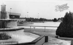 Uxbridge, The Swimming Baths c.1960