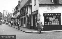Uxbridge, Ward's Grocers, Windsor Street c.1960
