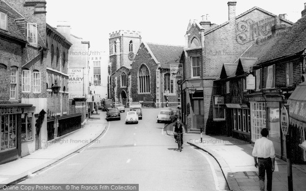 Photo of Uxbridge, Windsor Street c.1965