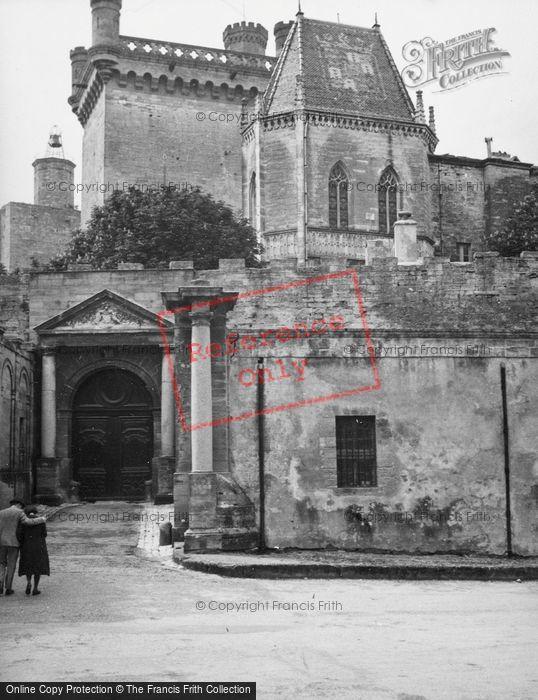 Photo of Uzes, Duke's Castle 1939