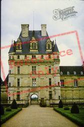 Chateau De Valencay, Main Entrance 1984, Valençay
