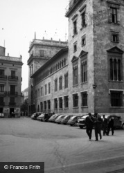 Valencia, Palace Of The Generalitat 1960