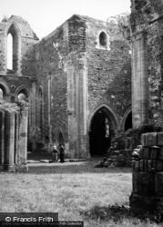 Valle Crucis, Abbey 1948, Valle Crucis Abbey