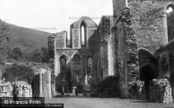 Valle Crucis, Abbey c.1900, Valle Crucis Abbey