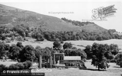 Valle Crucis, Abbey c.1950, Valle Crucis Abbey