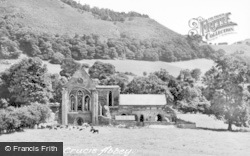 Valle Crucis, Abbey c.1950