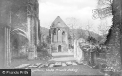 Valle Crucis, Abbey c.1960