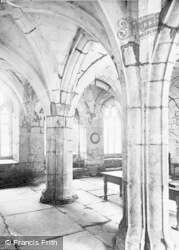 Valle Crucis, Abbey, Chapter House c.1931