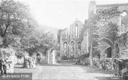 Valle Crucis, Abbey, East End, Lady Chapel c.1931