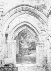 Valle Crucis, Abbey, Old Arch c.1931