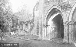 Valle Crucis, Abbey, St Joseph's Lady Chapel c.1931