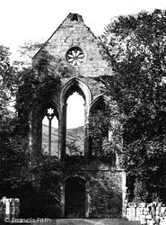 Valle Crucis, Abbey, West End c.1931